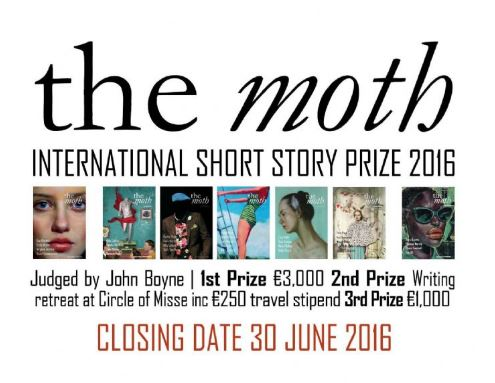 The Moth International Short Story Prize 2016