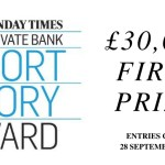 The Sunday Times Short Story Award 2018: Entries Now Open for the World's Richest Short Story Prize