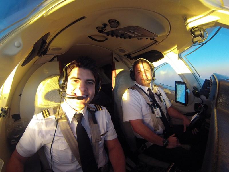 Entrevista com o piloto brasileiro Dayv Franco. GOPR0212
