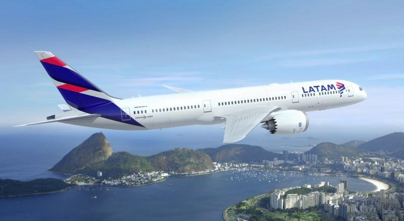 Boeing 787-9 LATAM Rio