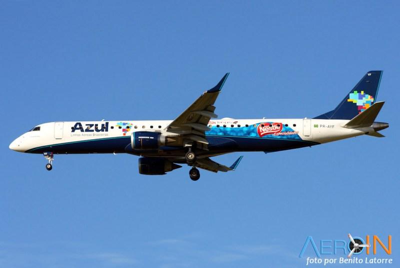 [Brasil] Logojets – outdoors aéreos brasileiros. PR-AYF-2