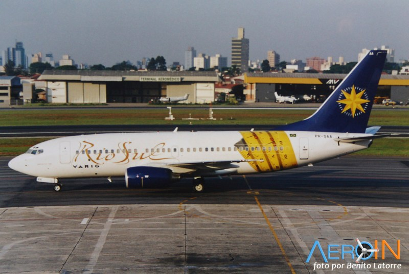 [Brasil] Logojets – outdoors aéreos brasileiros. PR-SAA