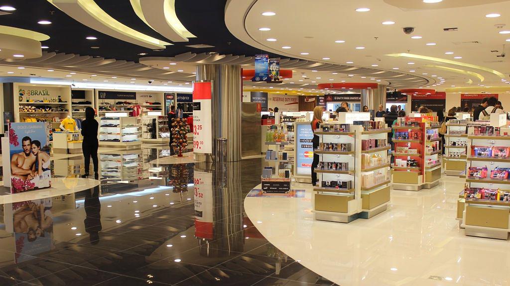 Gru airport e dufry fecham parceria para mais lojas e for Mobilya megastore last minute
