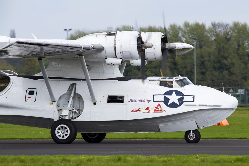 © Adam Duffield - Consolidated PBY Catalina • Plane Sailing • Abingdon