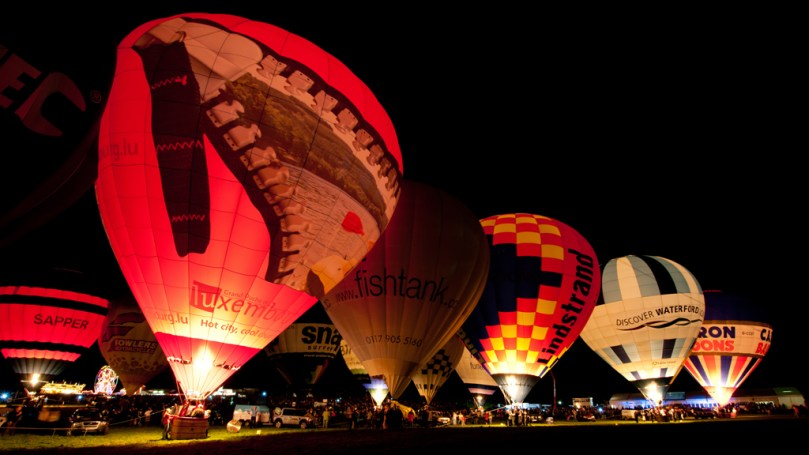© Michael Buckle - Bristol International Balloon Fiesta • Ashton Court - Bristol, UK