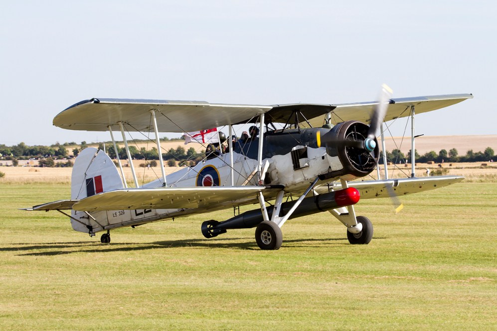 © Adam Duffield • Duxford Air Show 2012 • Duxford Airfield, UK • Swordfish