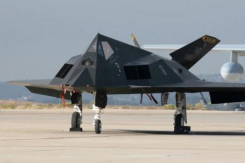 © Mark Forest - Lockheed F-117A Nighthawk • United States Air Force • MCAS Miramar Airshow 2007