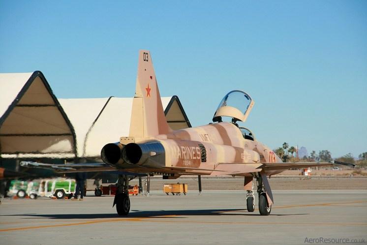 © Paul Newbold - United States Marine Corps • F-5 Tiger II • Marine Corps Air Station Yuma, Arizona
