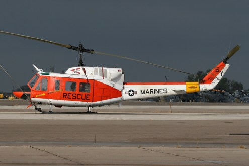 © Mark Forest - Bell HH-1N Iroquois • United States Marine Corps • MCAS Miramar Airshow 2007