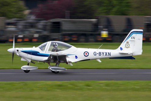 © Adam Duffield - Grob Tutor • Royal Air Force • Abingdon