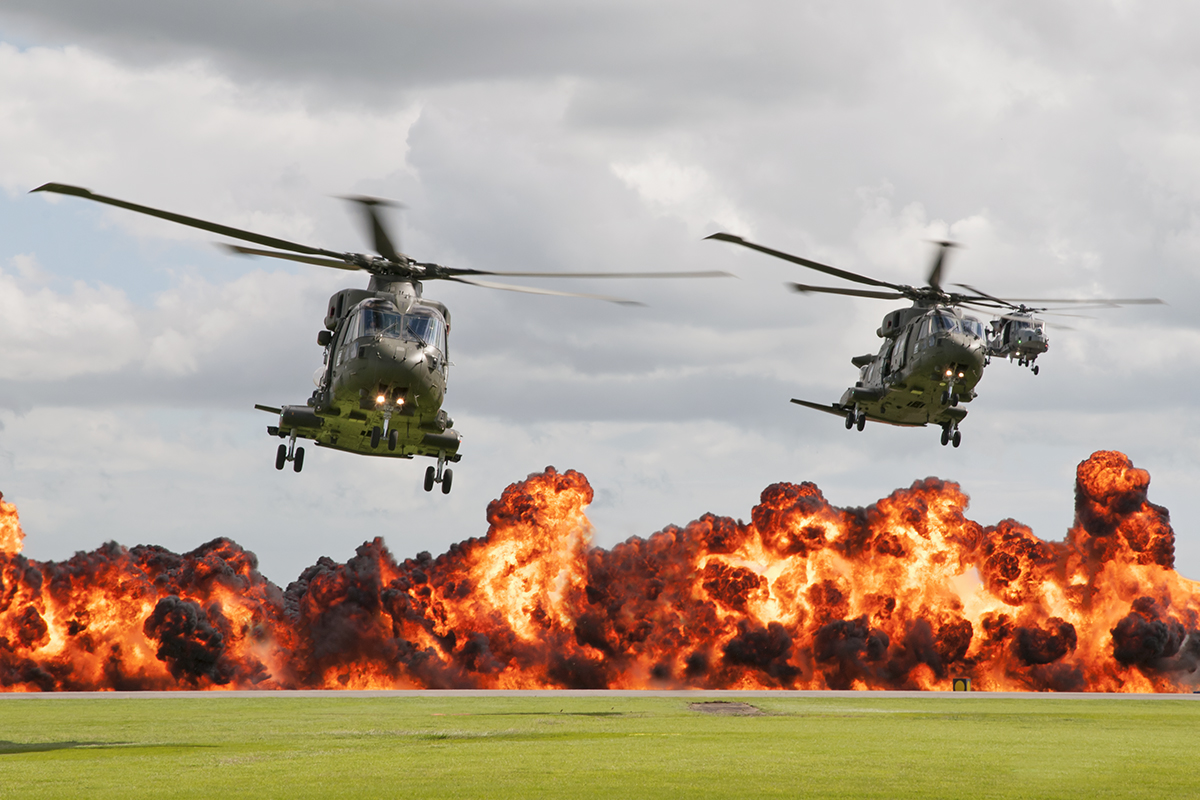 © Duncan Monk - Royal Navy Commando Assault - RNAS Yeovilton Air Day 2016