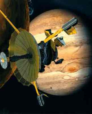 Galileo Spacecraft Picture - Spacecraft to Jupiter