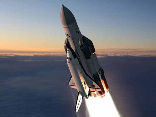 Russian Space Shuttle Picture