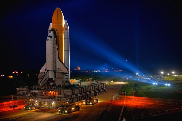 Space Shuttle Rollout Picture