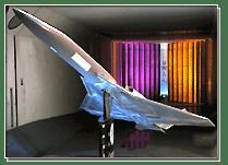 UW 2009 Student Wind Tunnel Model - SSBJ Noise Studies - Wind Tunnel Model by ATS