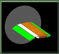 2D wing model