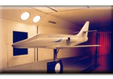 Business jet installed at UWAL.