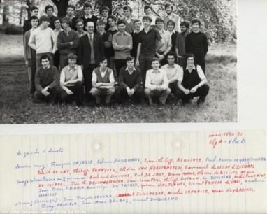Album : 1981 1981 A 6e latin-Grec A et 6e Latin-Grec B