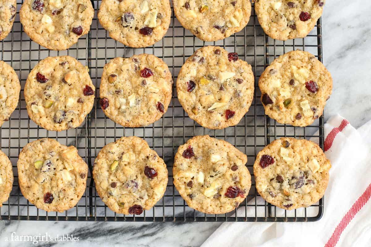 christmas kitchen sink cookies recipe kitchen sink cookies Christmas Kitchen Sink Cookies from afarmgirlsdabbles com
