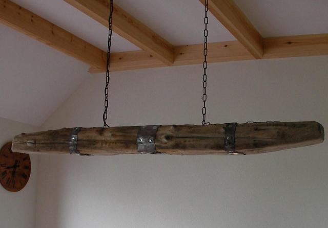 Hanglamp 170cm affourtit eten en drinken - Plafond met balk ...