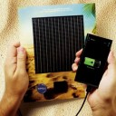 فكرة لمشروع شمسي من البرازيل nivea ad charger