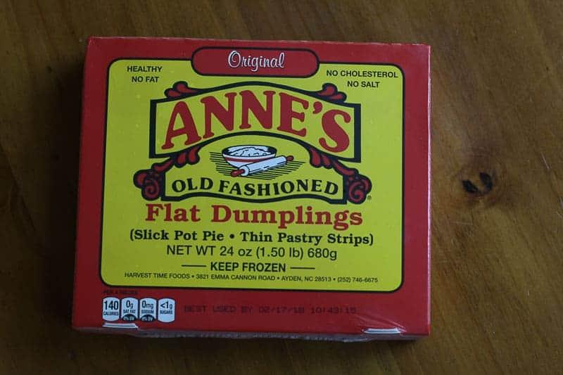Anne's Old Fashioned Flat Dumplings
