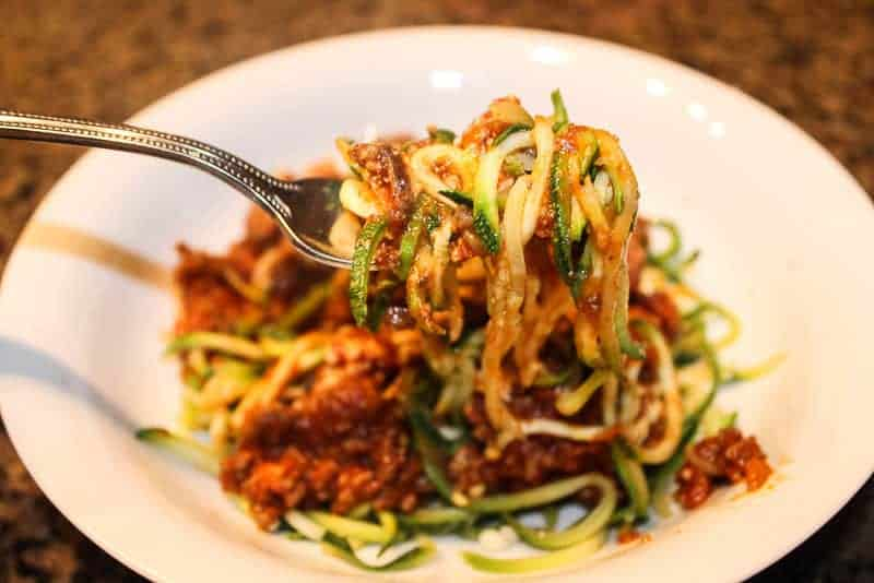 Zoodles from PADERNO World CUISINE SPIRALIZER