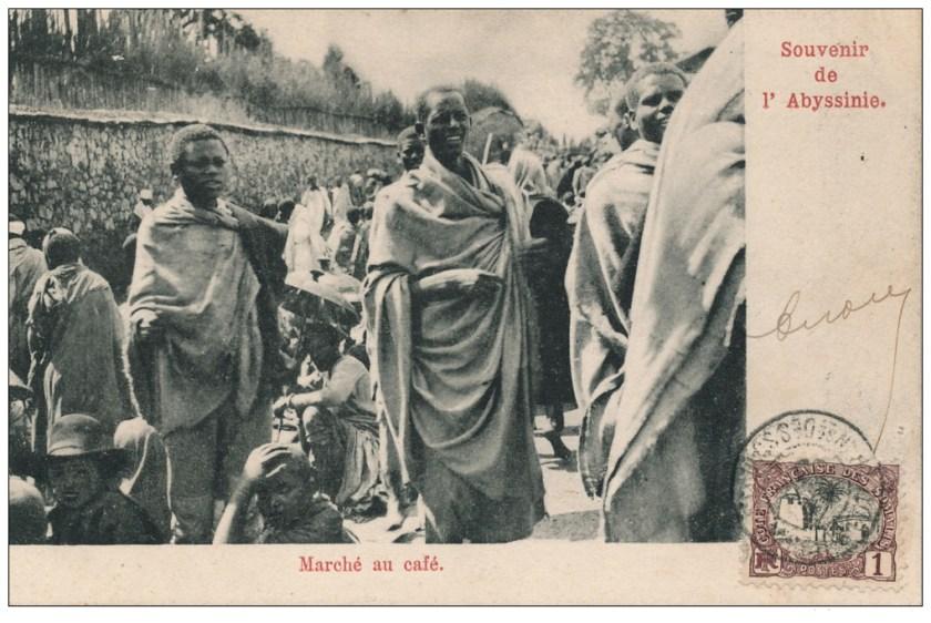 Souvenir-Abyssinie-marche-au-cafe