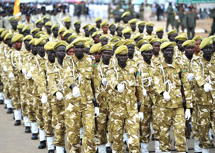 South Sudanese Military