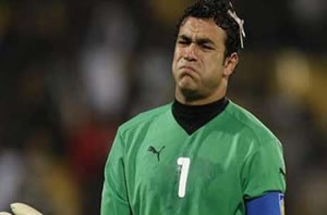 Essam El Hadary blessé et hospitalisé