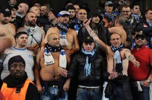 Des supporters de Naples