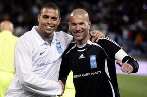 Zidane et Ronaldo toujours en guerre contre la Pauvreté