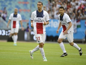 FOOTBALL : Real Madrid vs PSG - Match Amical - Goteborg - 27/07/2013