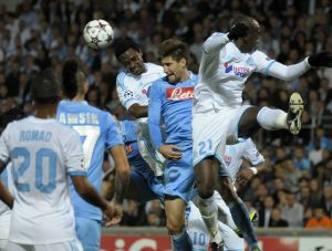 FOOTBALL : Marseille vs Naples - Champions League - 22/10/2013