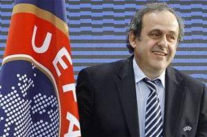 Michel Platini of Uefa