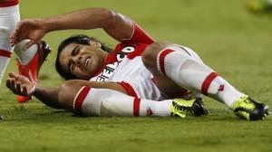 Falcao blessé