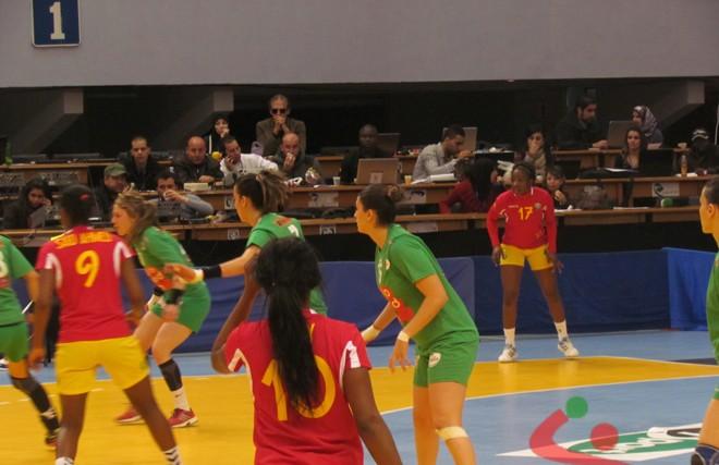 Can 2014 handball dames l alg rie la rdc latunisie et l angola en demies africa top sports - Coupe d afrique handball ...