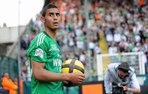 Football : Saint Etienne / Valenciennes - Ligue 1 - 03.04.2011 -