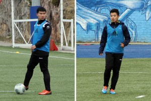 Min Jun Lin et Bohao Zhang