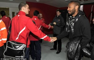 Henry arsenal une
