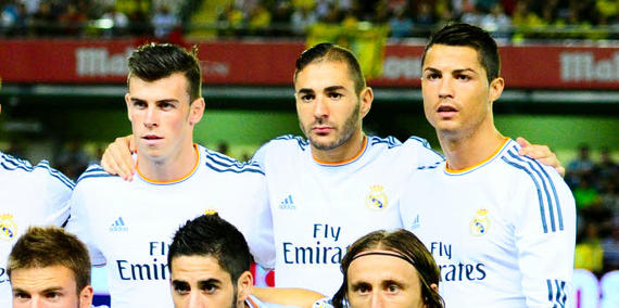 Iq option real madrid