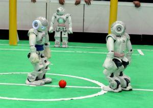 Robot footballeurs
