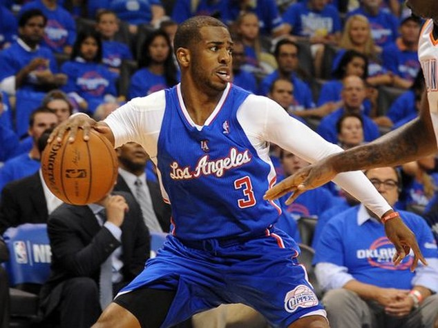 Chris Paul_oklahoma city-los angeles clippers