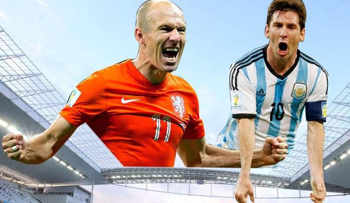 SOCCER:  Netherlands vs Argentina - Semi - World Cup 2014 - 07/0
