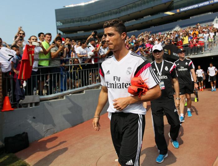 FOOTBALL : Entrainement et Conference de Presse - Real de Madrid - 01/08/2014