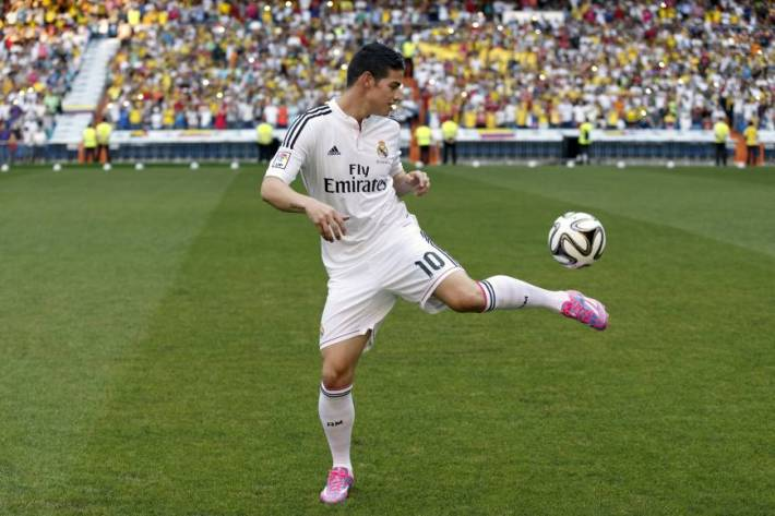 James rodriguez madrid nvo