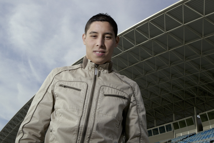 FOOTBALL : Abdel Barrada - Interview - Getafe - 30/09/2012
