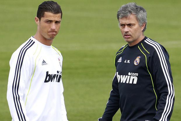 Cristiano Ronaldo et Mourinho