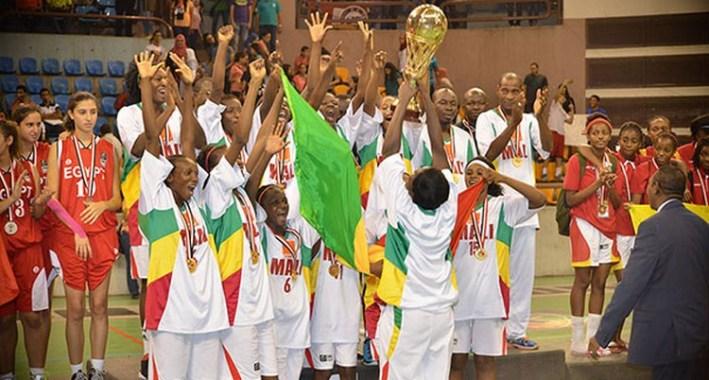 mali vainqueur de l'afrobasket u18_caire 2014