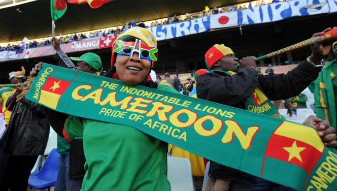 Cameroon Fans©Gavin Barker/BackpagePix